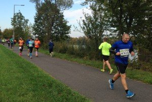 Claudi gives it a TRI - Halbmarathon Offenbach 2015