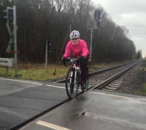 Claudi gives it a TRI - #Train47 1. Feiertag