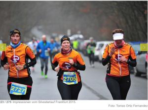 Claudi gives it a TRI - Silvesterlauf 2015