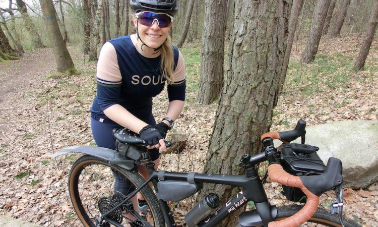 Maloja Fahrradoutfit und Rudy Project Cutline Sportbrille