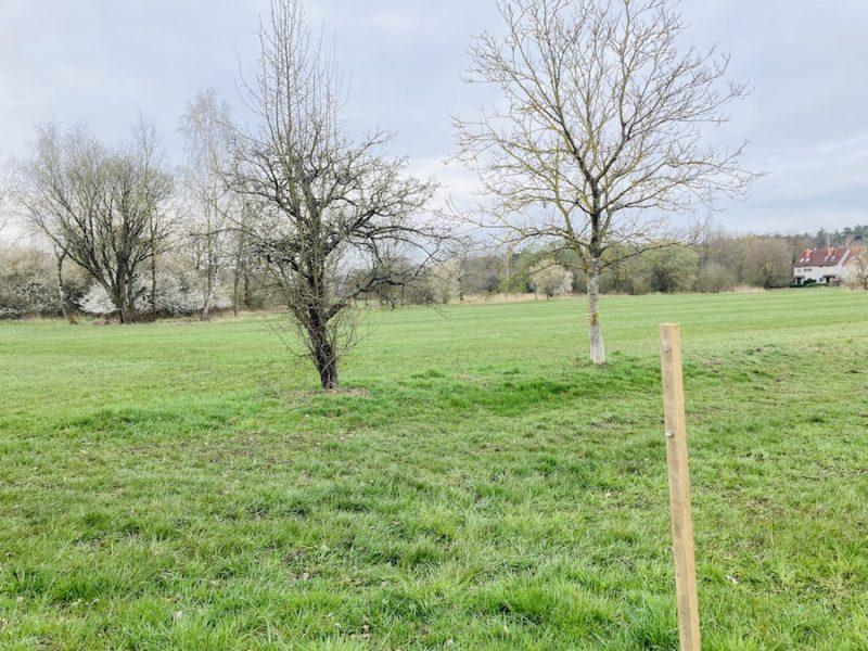 Schild vom Bauernverband zerstört