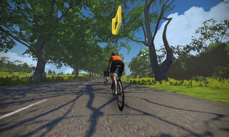 Zwift Meet-up Leader Beacon