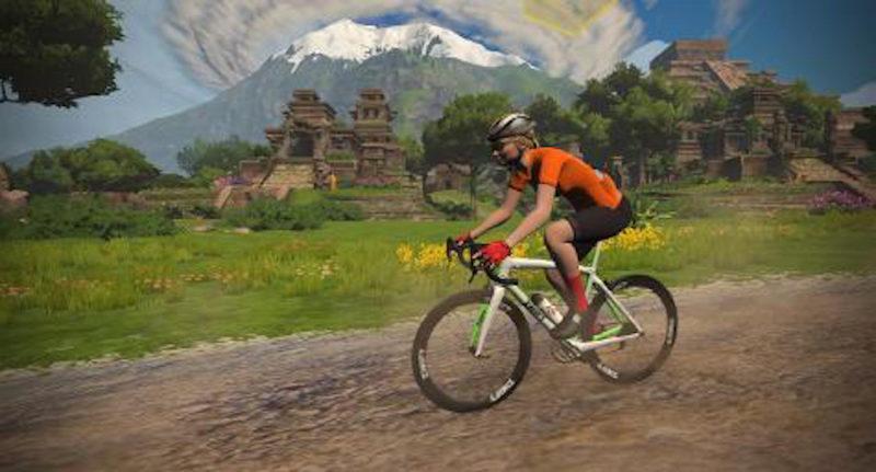 Zwift Fahrradtrainingsprogramm für Rollentrainer