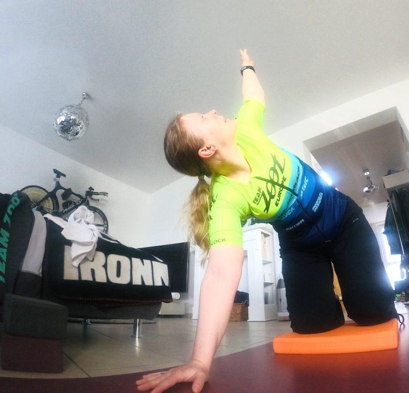 Dehnung im Yoga