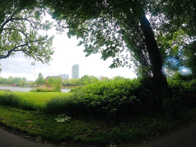 Blick von Fechenheim nach Offenbach