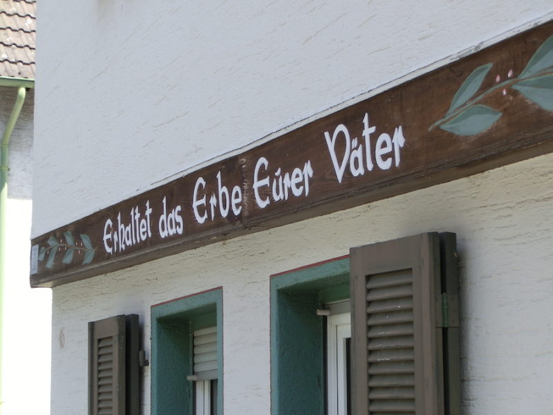Gasse in Königstein