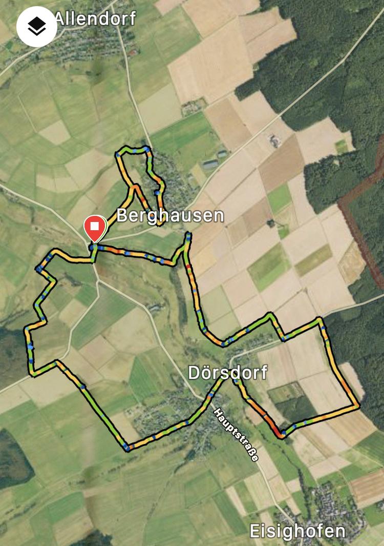 Wanderweg Berghausen Dörsdorf