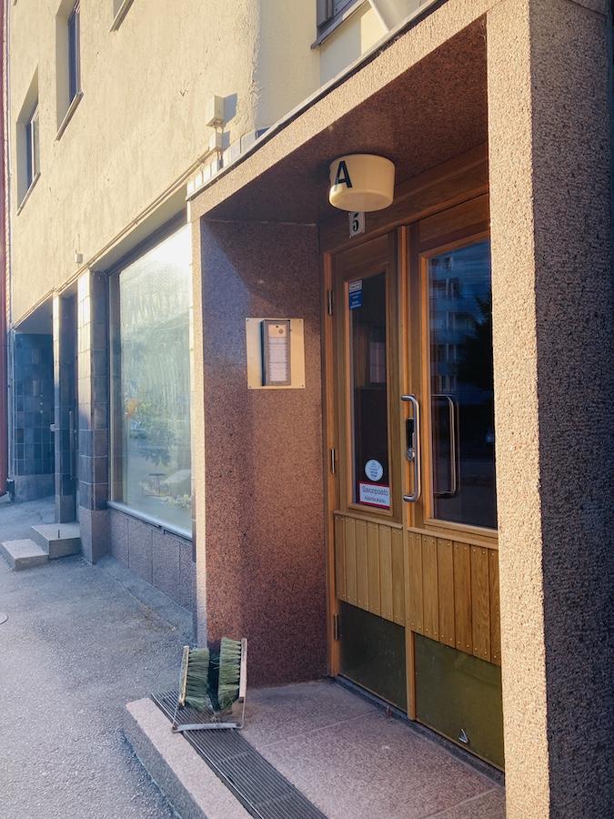 Eingangstür Lahti Finnland