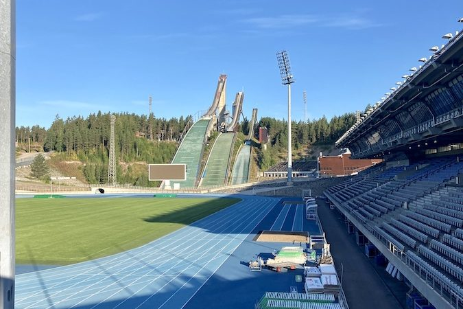 Finnland Lahti Schanze
