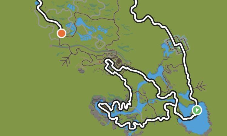 Karte von Zwift
