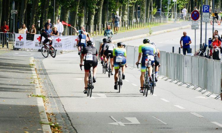 Radstrecke Frankfurt City Triathlon