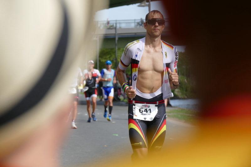 Läufer beim IRONMAN Frankfurt 2021
