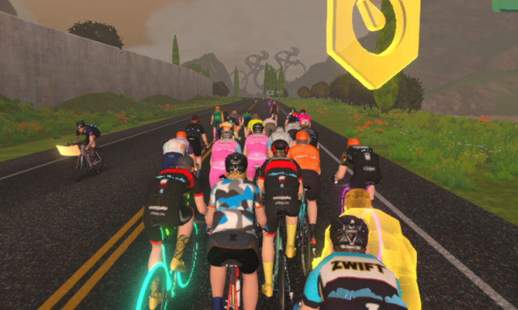 Pace maker at Zwift